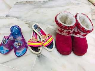 Girl's Sandals & Winter Shoes