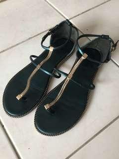 羅馬 金屬 鍊條 涼鞋 拖鞋