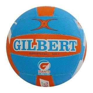 Gilbert Netballs Giants size 5