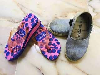 Girl's Slipper + Fufa Shoes