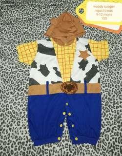 Romper woody costume