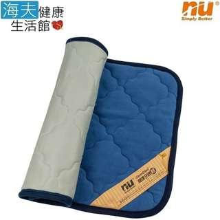 【海夫健康生活館】NU 恩悠數位 舒眠健康能量雙面枕墊(75x45cm)