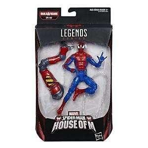 Marvel Legends Spiderman house of m