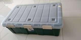 Large & Solid Plastic Container with 3 Locks