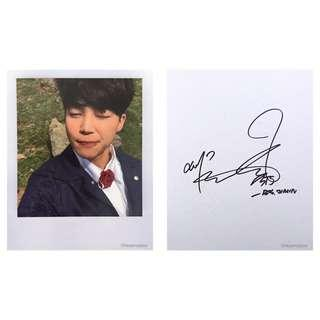 [INSTOCK] BTS Young Forever Jimin Polaroid
