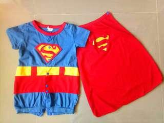 Free shipping! Superman costume for babies