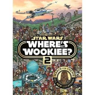 🚚 Star Wars Where's the Wookiee 2 Search and Find Activity Book