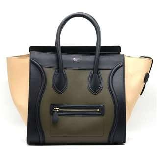 CELINE Tricolor Mini Luggage