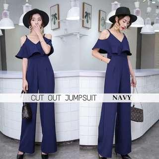 CUT OUT JUMPSUIT