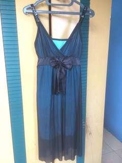 Dress hitam Tosca