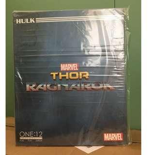 全新正版Mezco One:12 Ragnarok Hulk DC Marvel Legends SHF Mafex Neca Select Deadpool