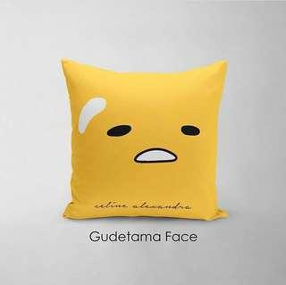 🚚 CUSTOM CUSHION COVER gudetama