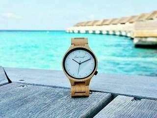Wooden watch Reng