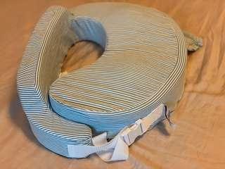 Breast cushion and feeding bottle