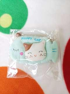 🚚 BN Crafted Embossed Kitty Key Pouch