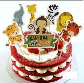 🚚 Cake Topper Set