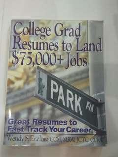 🚚 College Grad Resumes to Land $75,000+ Jobs