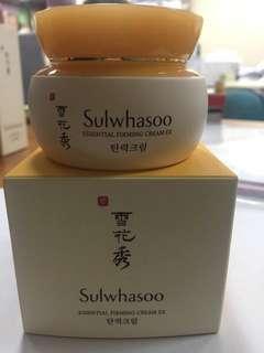 Sulwhasoo essential firming cream ex NEW