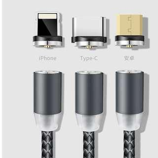 Magnetic 🧲 phone data cable