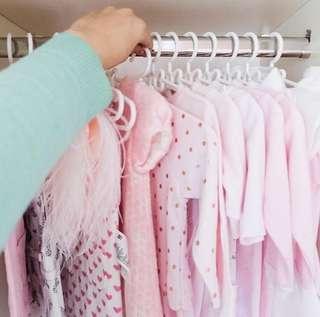 Hanger / Gantungan Baju Anak Model Pita