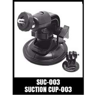 SUCTION CUP MOUNT 9.5 CM FOR GOPRO HERO/ ACTION CAMERA SUC-003