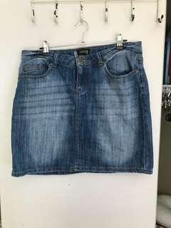 Denim skirt size 14