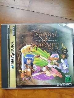 Sega saturn sword sorcery