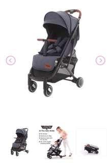 Keenz Air Plus Stroller (Black(w)) (brand new)