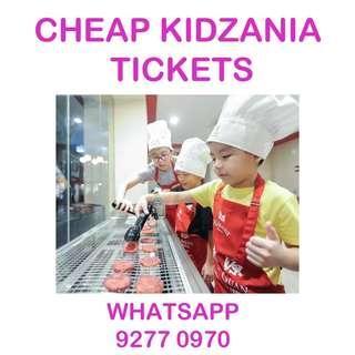 🚚 CHEAP Kidzania Sentosa E-tickets