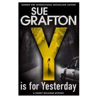 🚚 Y is For Yesterday by Sue Grafton