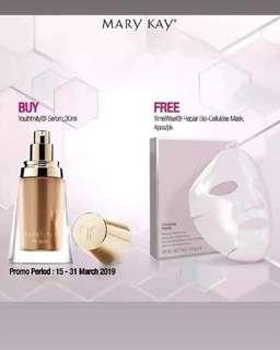 Youthfinity The Serum (Free Biocellulose Mask - 4pcs)