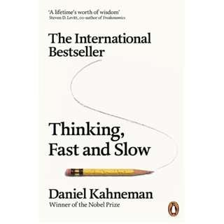 🚚 Thinking, Fast and Slow by Daniel Kahneman