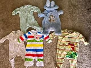 Baby clothes bundle 0000 to 00