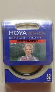 Hoya Japan Center Spot 52 mm Circular Camera Lens Filters