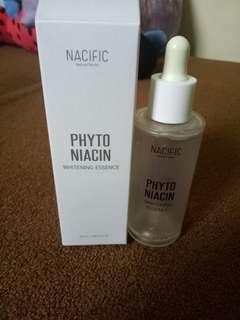 Botol dan kardus Nacific Phyto Niacin Whitening Essence