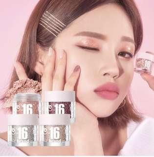 🇰🇷韓國代購🇰🇷   相信大家對🇰🇷16Brand糖果色🍬嘅眼閃粉