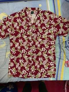 Hawaii motif vintage car