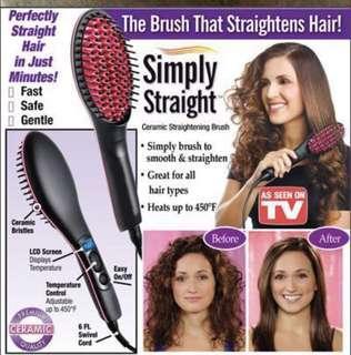 Straight Heater Ceramic Brush