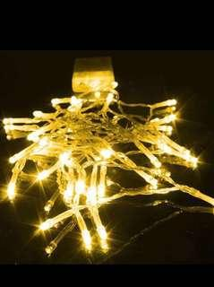 🚚 Cheapest in Carousell ‼️Fairy Lights String 1M Warm Light