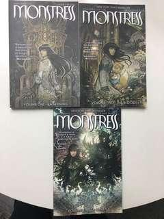 🚚 Monstress TPB Volume 1, 2 & 3 by Image Comics collecting #1 to #18 - Excellent Condition, bought brand new and read once only.