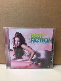 安室奈美惠 Best Fiction CD + DVD