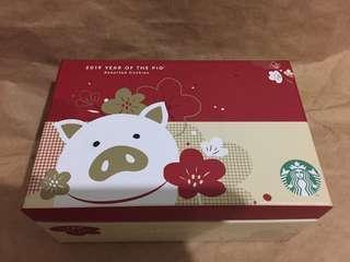 🚚 Starbucks CNY box