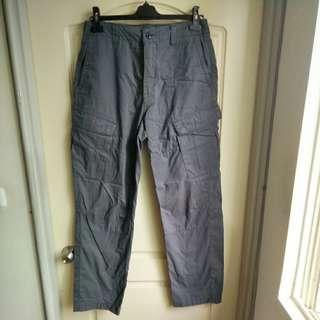 🚚 【onsale】Nautica灰色工作褲-34W x  36L