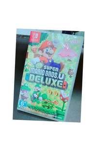 我最便宜!Nintendo Switch New 超級瑪利歐 U 中文豪華版 快速出貨 可超商取貨付款 24h出貨