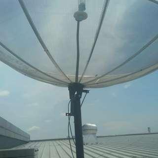 Servis Parabola FTA All Satelie All Pay tv