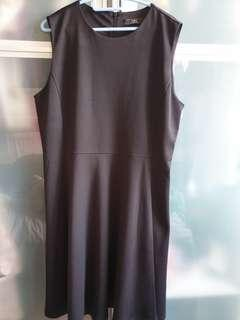 Iora Office Black Dress