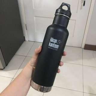 [FREE SF] Klean Kanteen Matte Black Insulated Water Bottle