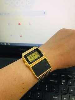 Casio Memory Calculator Watch