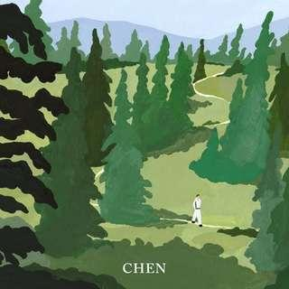 CHEN(EXO) - 1st Mini Album April,and a Flower