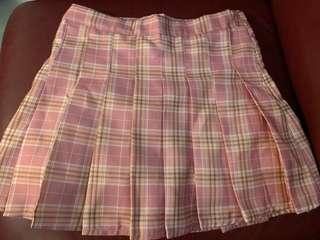 Japanese plaid skirt